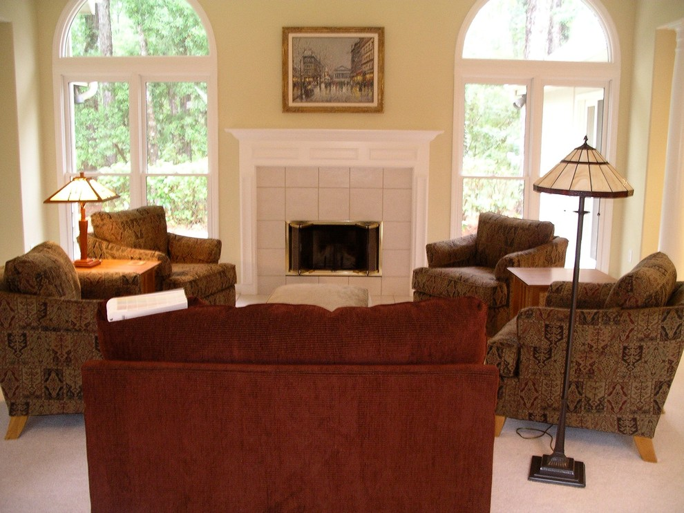 Hilton Head Home Remodel Living Before