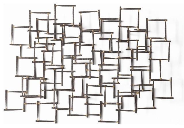 Arteriors Ecko Wall Sculpture Contemporary Wall Sculptures