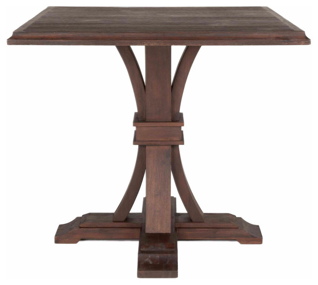 Devon square counter height dining table farmhouse for Farmhouse counter height table