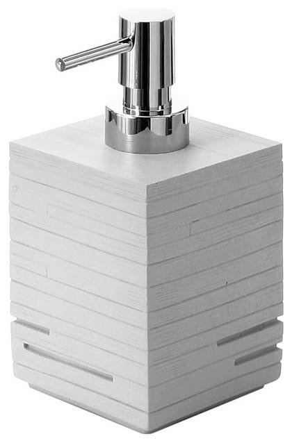 Modern Grey Countertop Soap Dispenser
