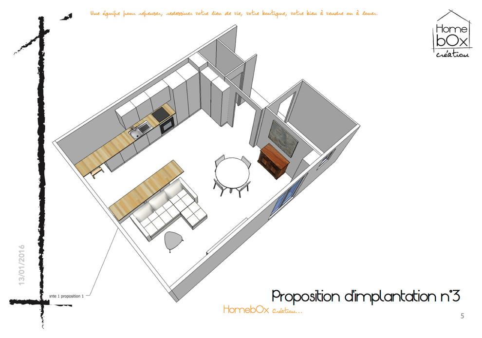 Rénovation de l'appartement de Mme B