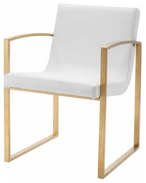 Charming Stylish Armchair With Brushed Gold Legs Modern Armchairs And Accent Chairs