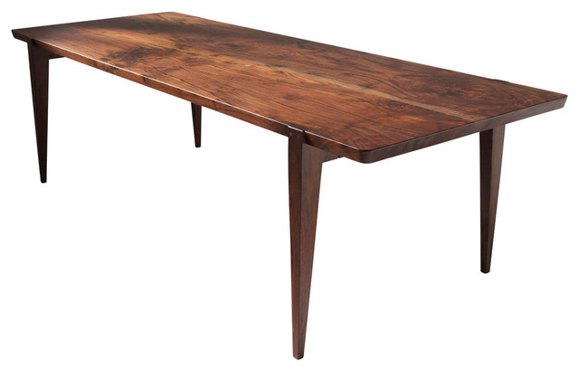 Oslo Dining Table Oregon Walnut Midcentury Dining
