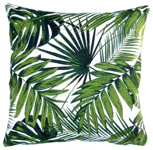 Tropical Botanics Throw Pillow Cover Only