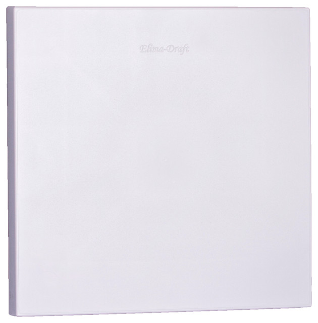 """9"""" X 9"""" Vent Cover For Aluminum Vents, Elima-Draft, Hvac Insulated."""