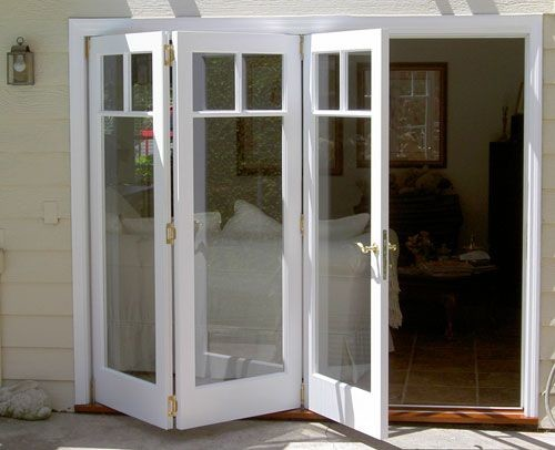 bi fold doors or french doors to garden