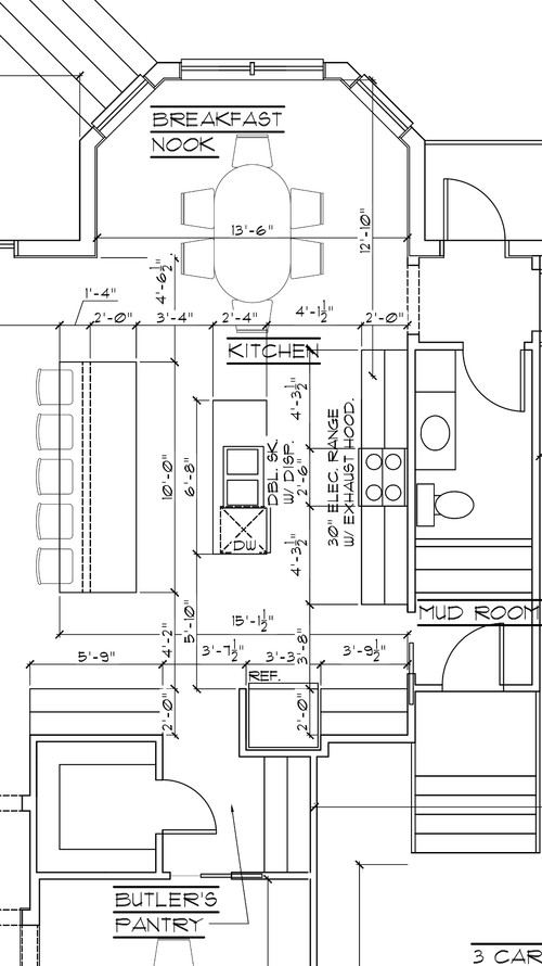 Building forum recommended your help with kitchen layout for Suggested kitchen layouts