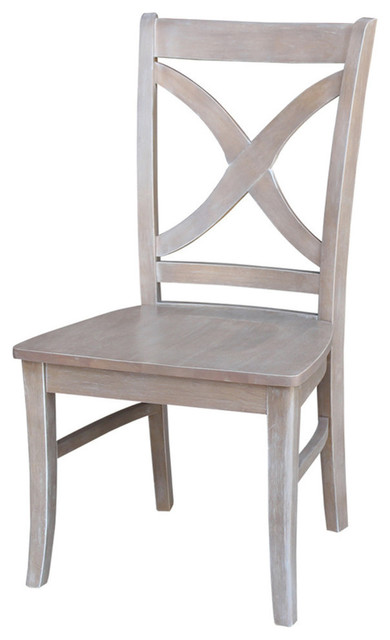 International Concepts Cosmo Dining Chair In Gray Taupe (Set Of 2)   Dining  Chairs   By International Concepts