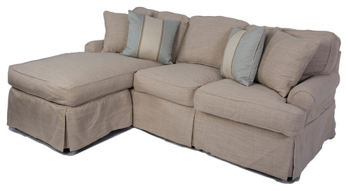 Hi queen sleeper sectional sofa with 3 sides