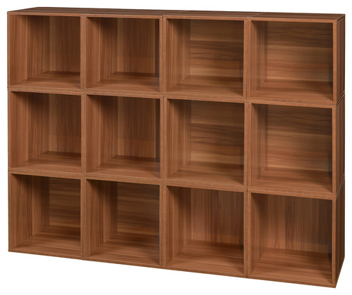 Niche Cubo Storage Set, 12 Cubes, Warm Cherry