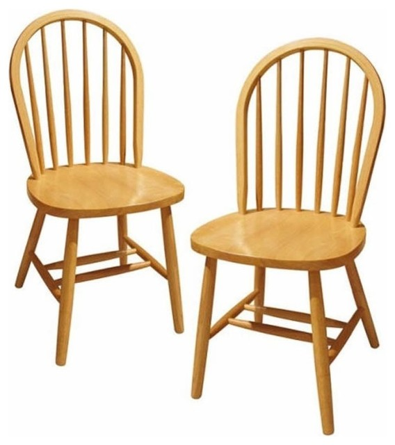 Winsome Windsor Dining Chairs, Set Of 2