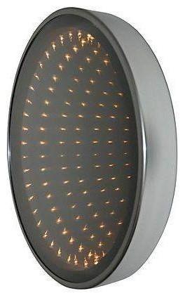 Infinity Bathroom Mirror 1970s Illuminated