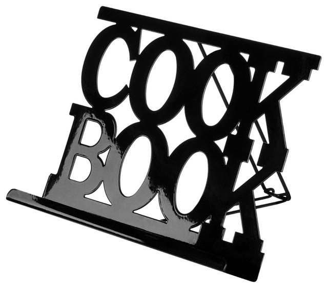 Premier Housewares Black Enamel Cook Book Stand
