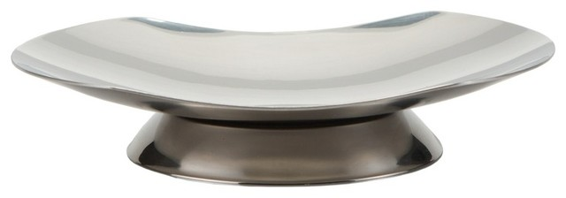 Chrome Free Standing Soap Dish With