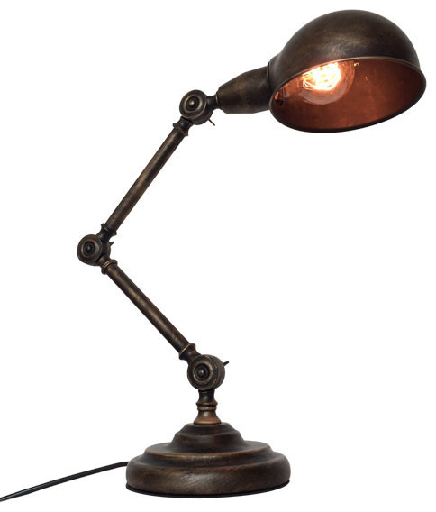 Medieval Retro Style Table Lamp Industrial Table Lamps