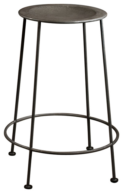 Parker Counter Stool Zinc Industrial Bar Stools And