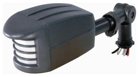 Nuvo Lighting 76/500 Flood Light Add-On Motion Sensor In White Finish.