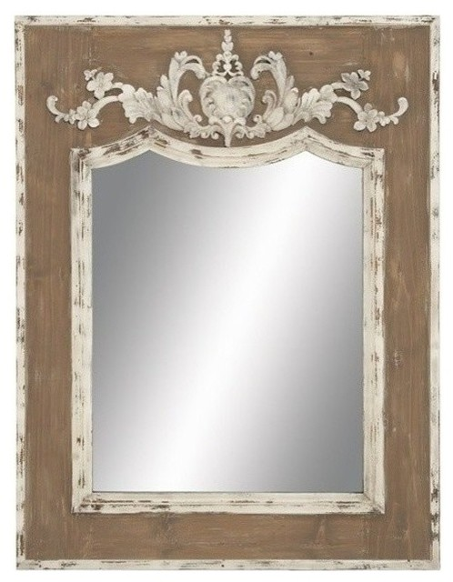 Maddox Wood-Framed Mirror.