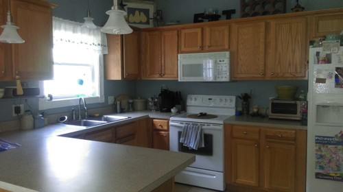 Kitchen cabinet color help Help design kitchen colors