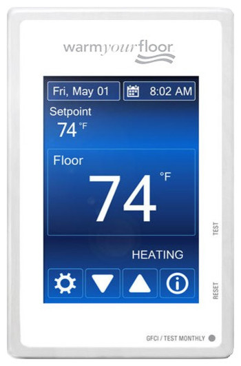 SunTouch Command Programmable Thermostat Contemporary Thermostats