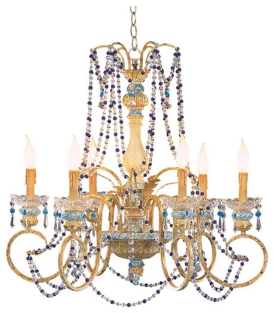 Candle Design Chandelier Blue Victorian Chandeliers