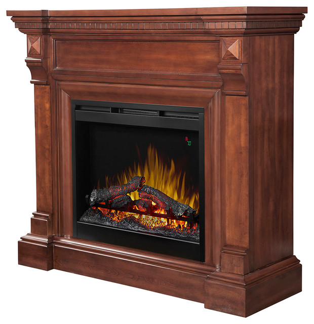 Dimplex William Electric Fireplace Mantel Burnished