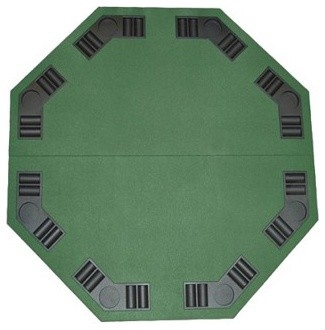 Poker & Blackjack Table Top with Case modern accessories and decor