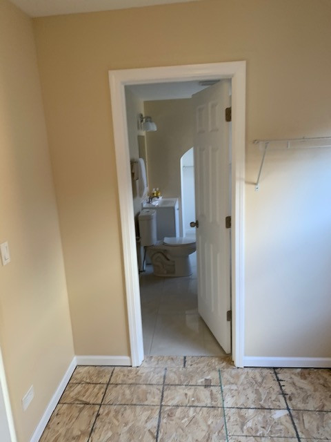 Floor Leveling and Additional Doorway