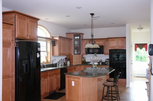 Modular homes for Traditional modular kitchen