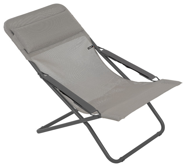 Lafuma Transabed, Folding Sling Chair, Terre/ Earth