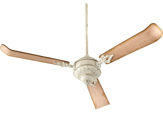 Quorum Brewster 60 3-Blade Ceiling Fan, Persian White.
