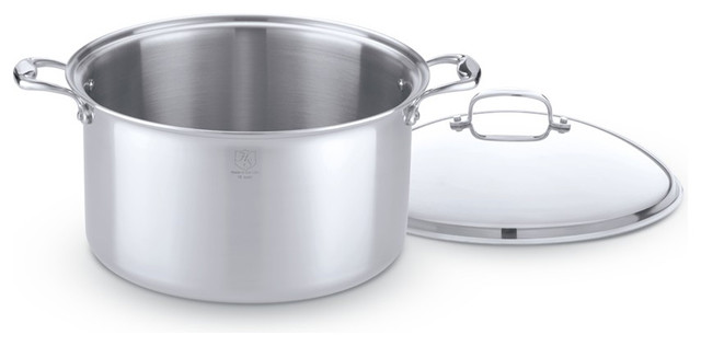 Hammer Stahl 16-Quart Stock Pot With Cover.