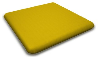 Outdoor Seat Cushion, Sunflower Yellow