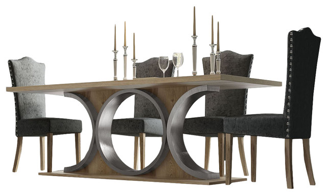 Modern Contemporary Dining Table Set, Modern Contemporary Dining Room Set