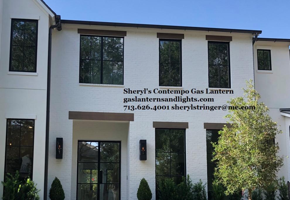 Sheryl's Contempo Contemporary Gas Lanterns