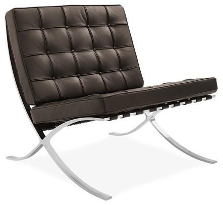Chair Italian Lounge Premium Leather Barcelona Contemporary pzVGUqMS