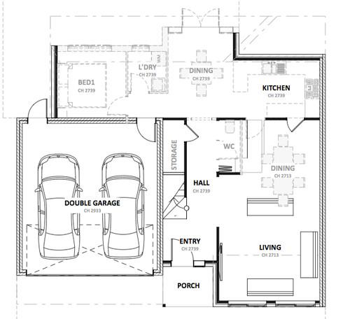 Floorplan feedback for Floor plan holder