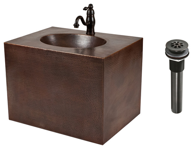 Shop houzz premier copper products bsp3 vadb24181 24 for Bathroom vanity packages