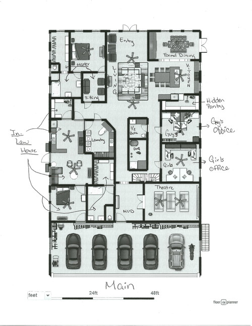 Need multi generational house plan help for Multigenerational home designs