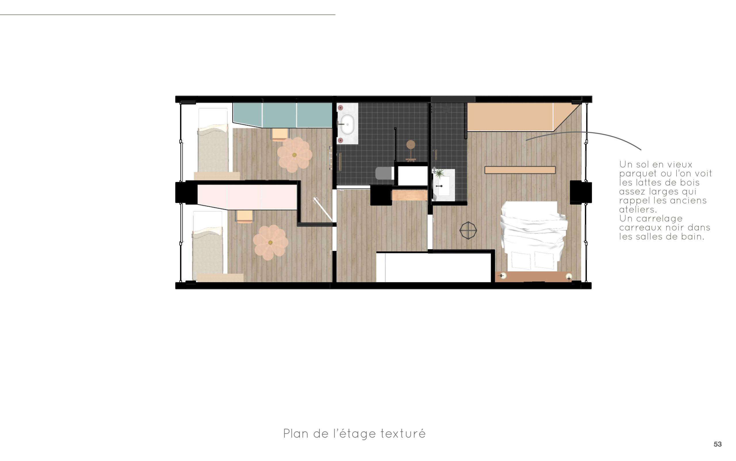 Duplex O - Plan R+1 - Option 2