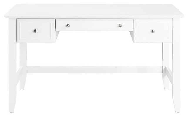 Campbell Computer Desk, White.
