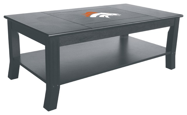 Denver broncos coffee table contemporary coffee tables for Table 6 in denver