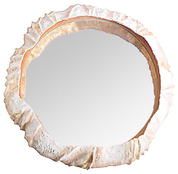 Now&x27;s Home Olhuveli Mother-Of-Pearl And Capiz Shell Mirror.