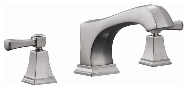 Torino Roman Tub Faucet W Sprayer Contemporary Bathtub Faucets By ShopL