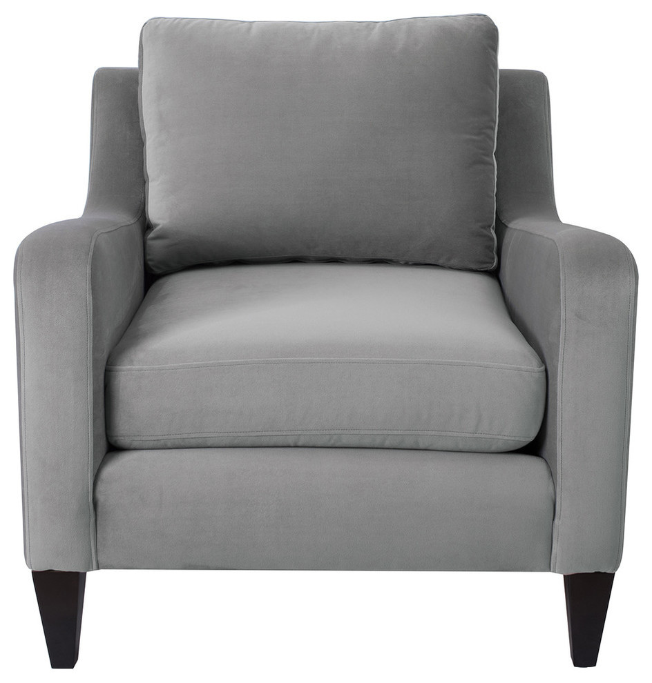 Serena Lawson Chair Transitional Armchairs And Accent