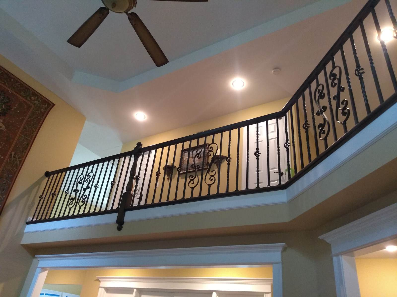 Grande Staircase with Juliette balcony