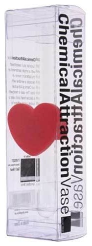 Chemical Attraction Heart Vase contemporary-vases