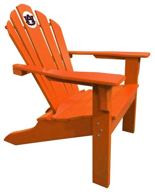 Imperial international auburn tigers big daddy orange Composite adirondack chairs