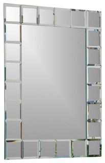 Decor wonderland mirrors montreal modern bathroom mirror reviews houzz - Bathroom mirrors montreal ...