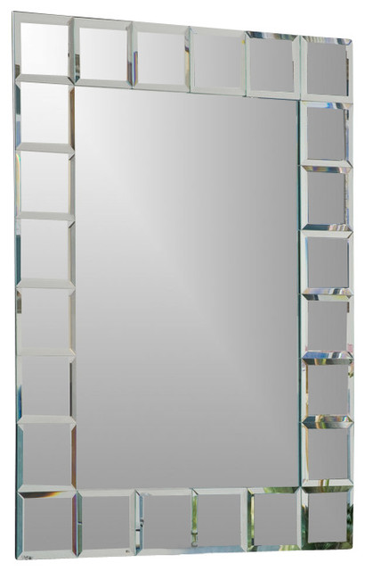 Montreal Mirror Contemporary Bathroom Mirrors